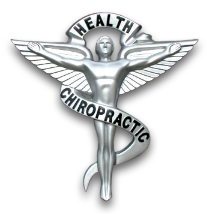Health and chiropractic logo